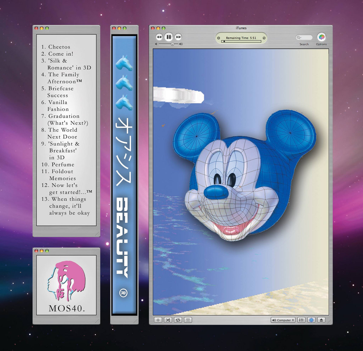 Disney iTunes 3D | Museum of Skin