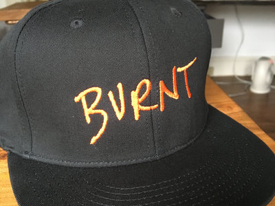 Custom BURNT embroidered hats main photo