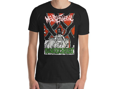 Mental Funeral / Generichrist - Split T-Shirt main photo
