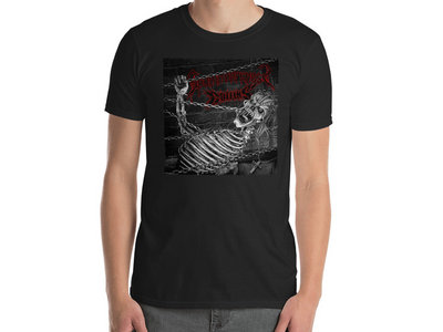 Coffins / Spun In Darkness - Split T-Shirt (Original Artwork) main photo