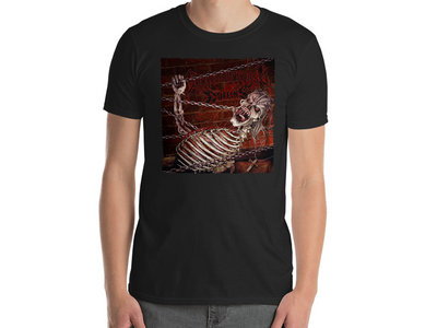 Coffins / Spun In Darkness - Split T-Shirt (Repress Artwork) main photo