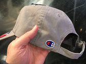 96 Mentality Authentic Champion Dad Hat GRAY photo