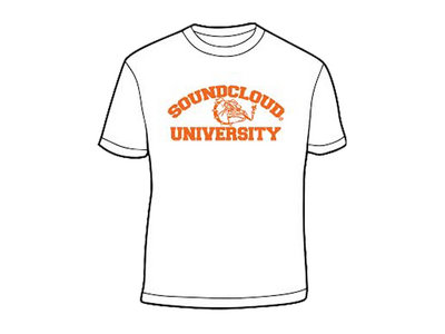SOUNDCLOUD UNIVERSITY TEE (WHITE) main photo