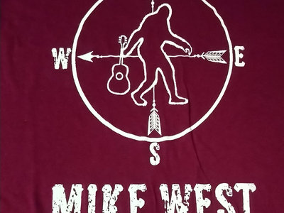 "Mike West ""Too Heavy"" Maroon Red shirt main photo"