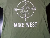 "Mike West ""Too Heavy"" Camo Green shirt photo"