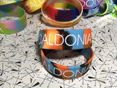 "Caldonia 1"" Embossed Silicone Wristband Bracelets photo"