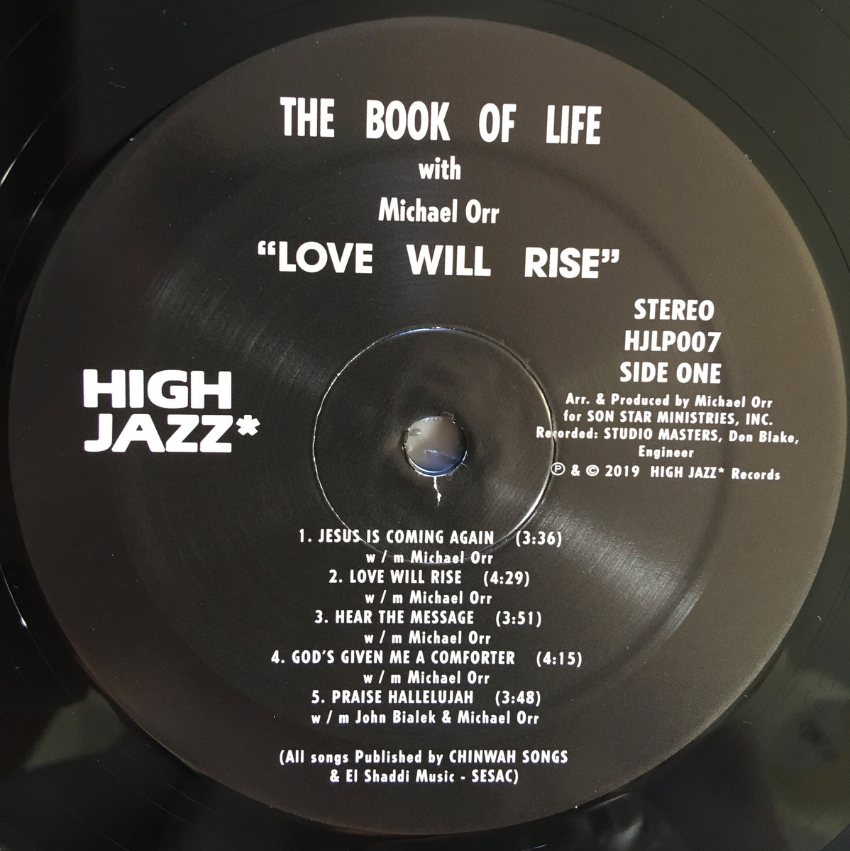 Love Will Rise | HIGH JAZZ* Records