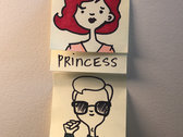 Post-it Note Portrait photo