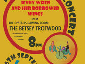 Ticket for Album Launch Concert 06.SEP.19. Live performance of THE GIRL ON THE BIKE (are you the girl on the bike?) At The Betsey Trotwood photo