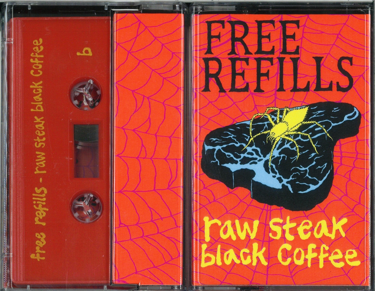 raw steak black coffee | free refills