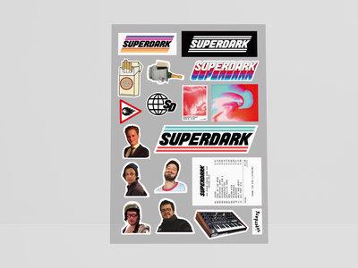 Superdark Stickerset main photo