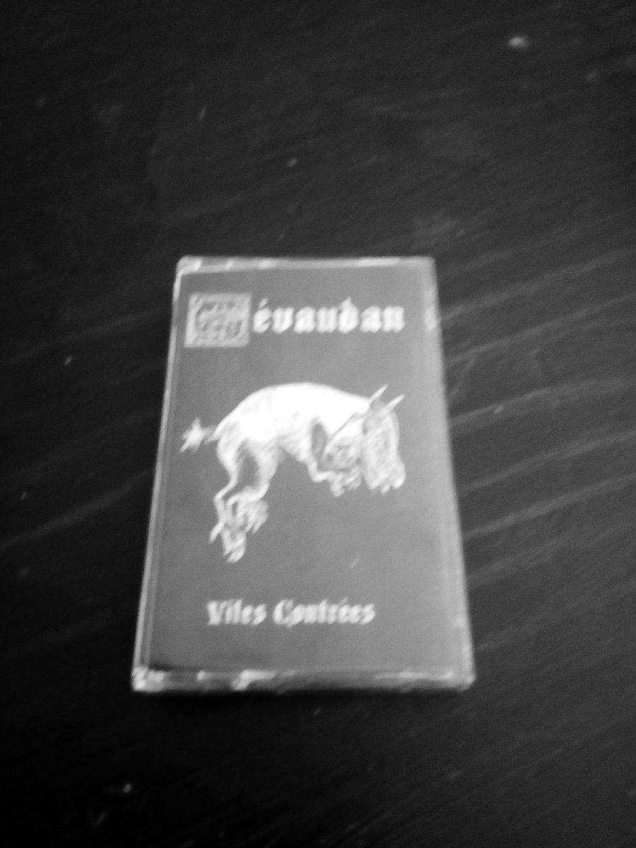 gevaudan cassette black metal