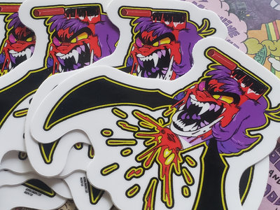 "[CLEARANCE + ALBUM INCLUDED] ""DEADEST BITCH ALIVE"" - 2.5x2.5in Vinyl Die-Cut Sticker main photo"