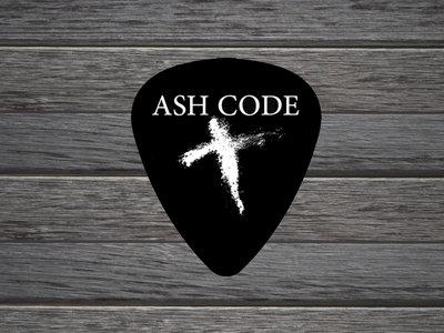 Ash Code 'Cross Logo' Guitar Pick main photo