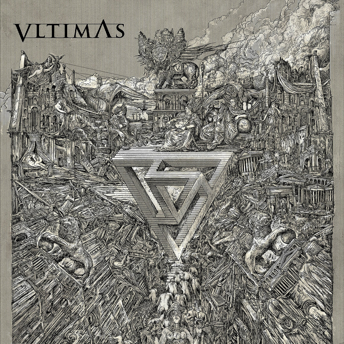 VLTIMAS - Something Wicked Marches In Digi-CD   Possession