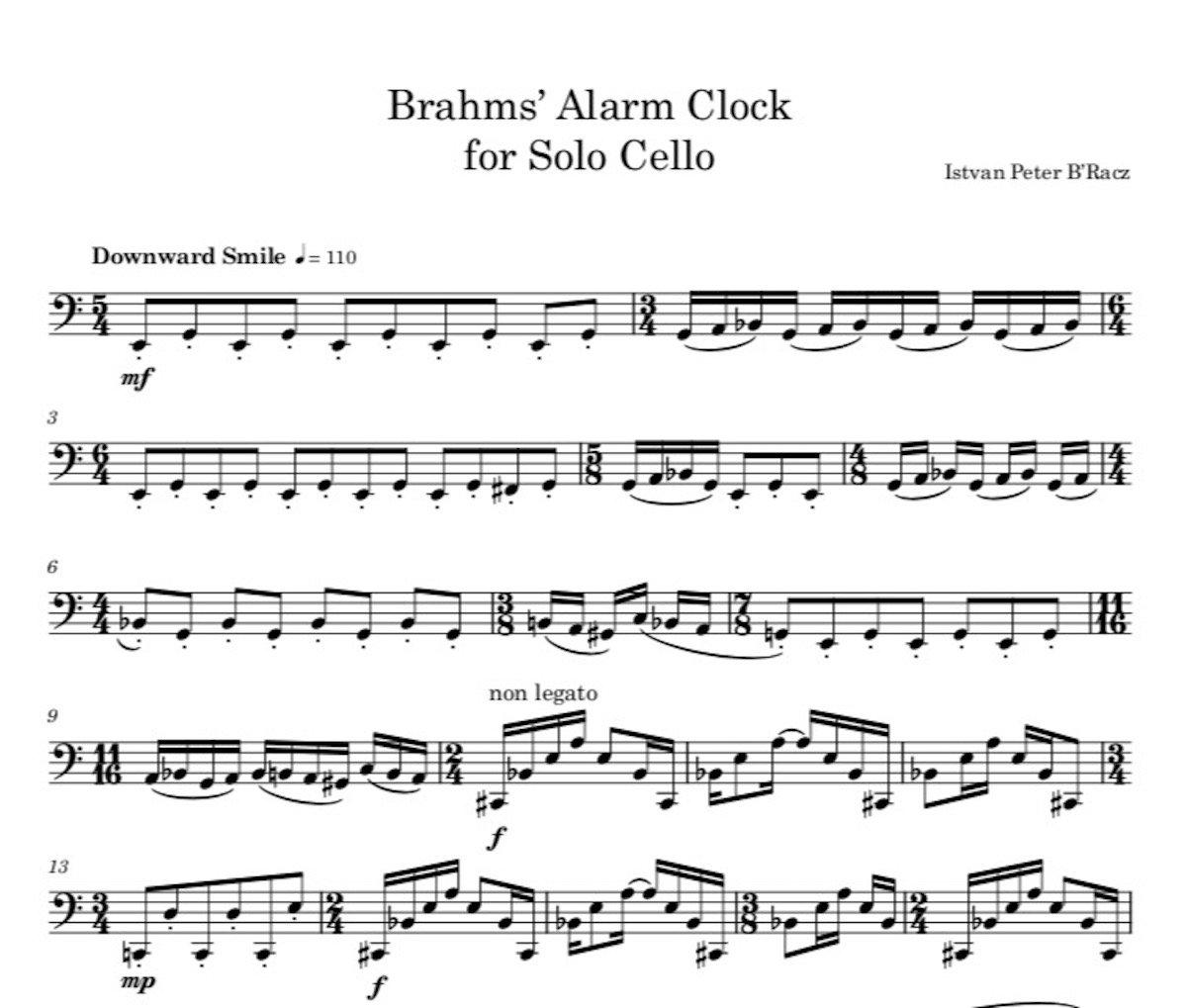 Brahms' Alarm Clock