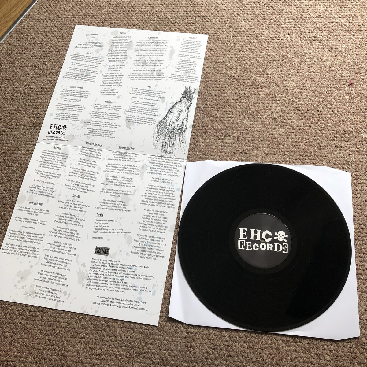 Eaten From The Inside (EHC018) | EHC Records