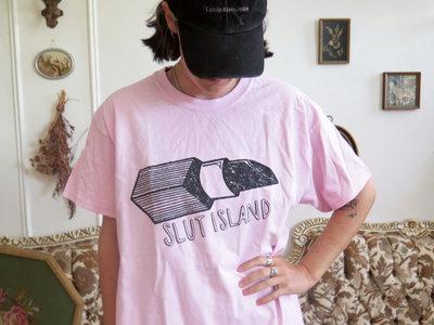 Slut Island Original Lipstick T - White main photo