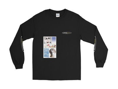 Hypervision LS tee - BLACK main photo