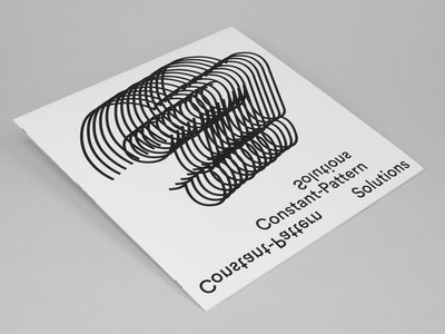 ANM038 Eric Frye — Constant-Pattern Solutions LP main photo