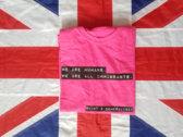 Skint & Demoralised pink t-shirt photo