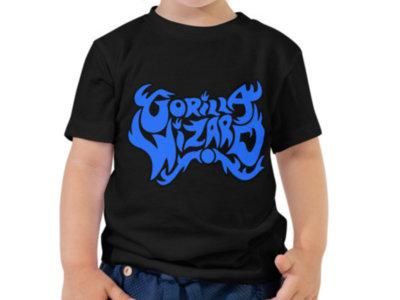 Gorilla Wizard toddler shirt main photo