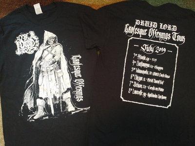 Grotesque Offerings 2019 Tour Shirt - Mark Riddick Design main photo