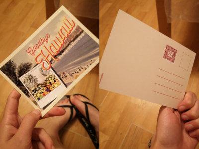 Goodbye Hawaii Limited Edition Postcard main photo