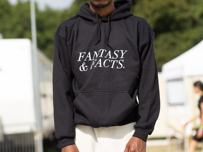 """""""Fantasy and Facts Large Logo"""" Hoodie main photo"""