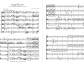 Sheet music: String Sextets Nos. 1 & 2 (full score + parts 2vln/2vla/2vc) photo