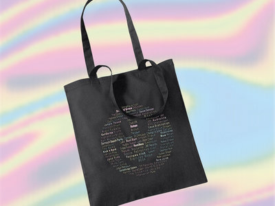 HCC Smiley Tote Bag - Black main photo