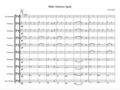 Make America Again for Trombone Choir main photo