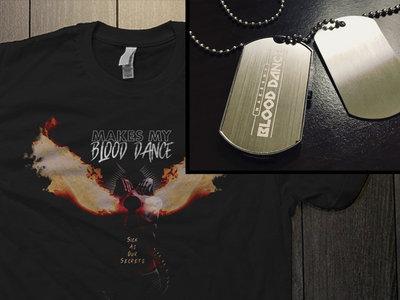Bundle: USB Dog Tag + Sick As Our Secrets T-Shirt main photo