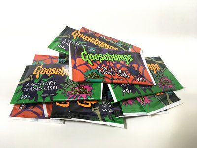 A pack of Goosebumps Trading Cards main photo