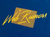 Web Rumors Audio Video Disco Logo Tee photo