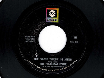 THE SAME THING IN MIND - THE NATURAL FOUR - VG+ main photo
