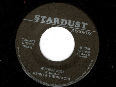 WISHING WELL - KENNY & THE IMPACTS - VG+ main photo