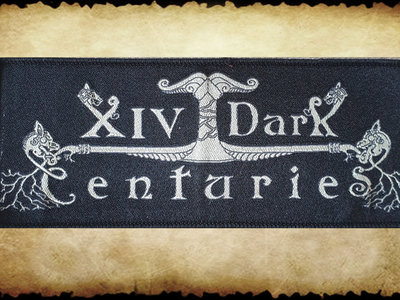 Aufnäher / Patch: XIV Dark Centuries - NEUES Logo main photo