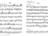 Sheet music: Infinite Progress for solo violin photo