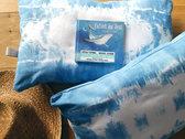 """Coussins Indigo """"Enfant Du Vent"""" - Indigo Cushions photo"""