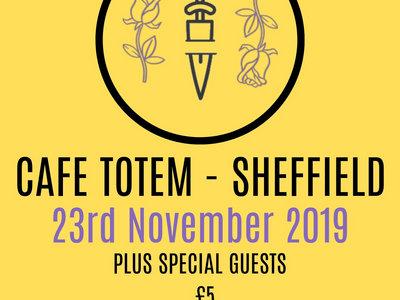 Air Drawn Dagger - Cafe Totem, Sheffield 23rd November 2019 main photo