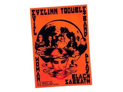 """Evil Woman"" Poster A3 main photo"