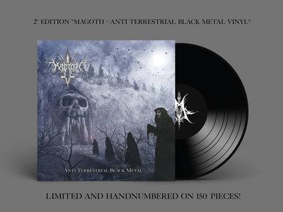 Magoth Bundle : ''Anti Terrestrial Black Metal'' on black vinyl limited to 150pcs. + CD main photo