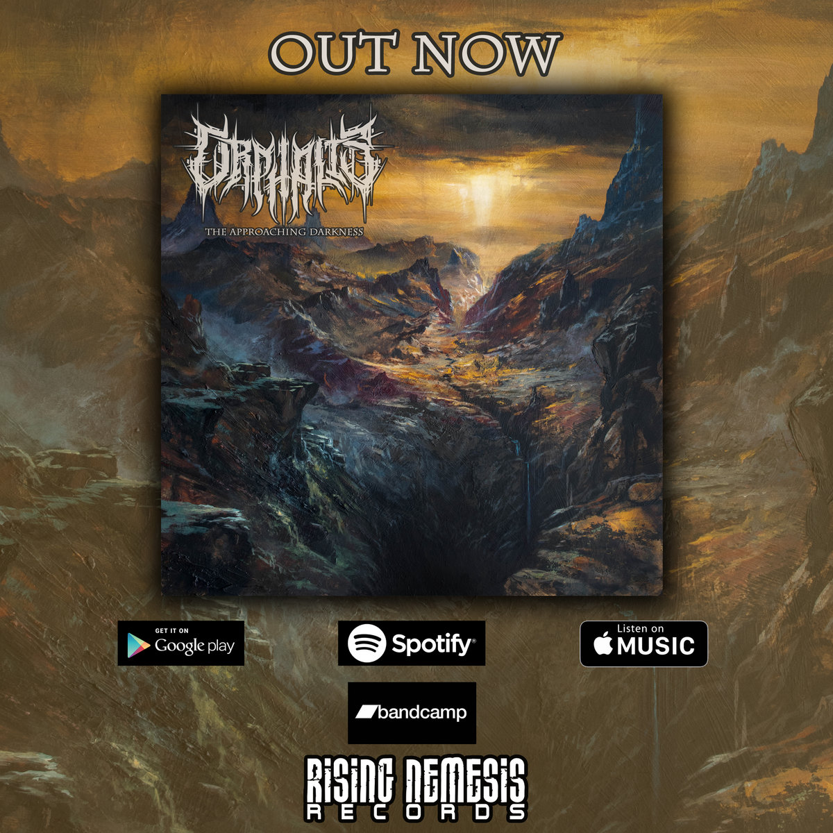 The Approaching Darkness | Rising Nemesis Records