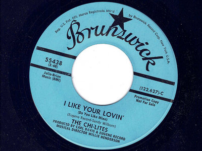 I LIKE YOUR LOVIN - THE CHI-LITES - NM main photo