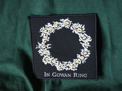 In Gowan Ring Patch in Forest Green 10 x 10 cm main photo
