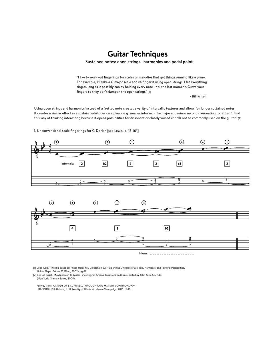Shenandoah - Bill Frisell (revised transcription) | Jan Jakut