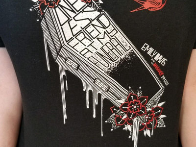 The Murder Police COFFIN tshirt main photo