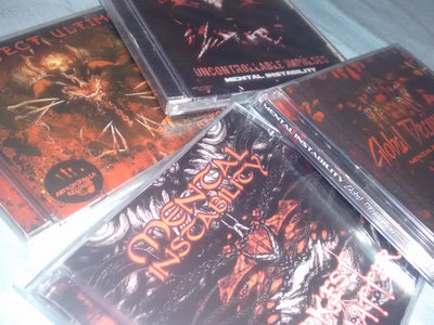 """""""Mental Instability"""" full discography main photo"""
