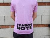 Ransom Note FC Shirt photo